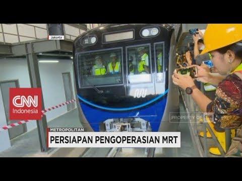 Siap-siap Jakarta! Persiapan Pengoperasian MRT Telah Mencapai 92%