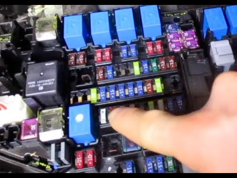 FUSE BOX Relay LOCATION Subaru Forester 2009 2010 2011 ...