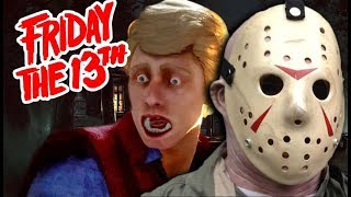 MY SON WADE & I SELL BURGERS! | Friday the 13th Game (Funny Moments) #8