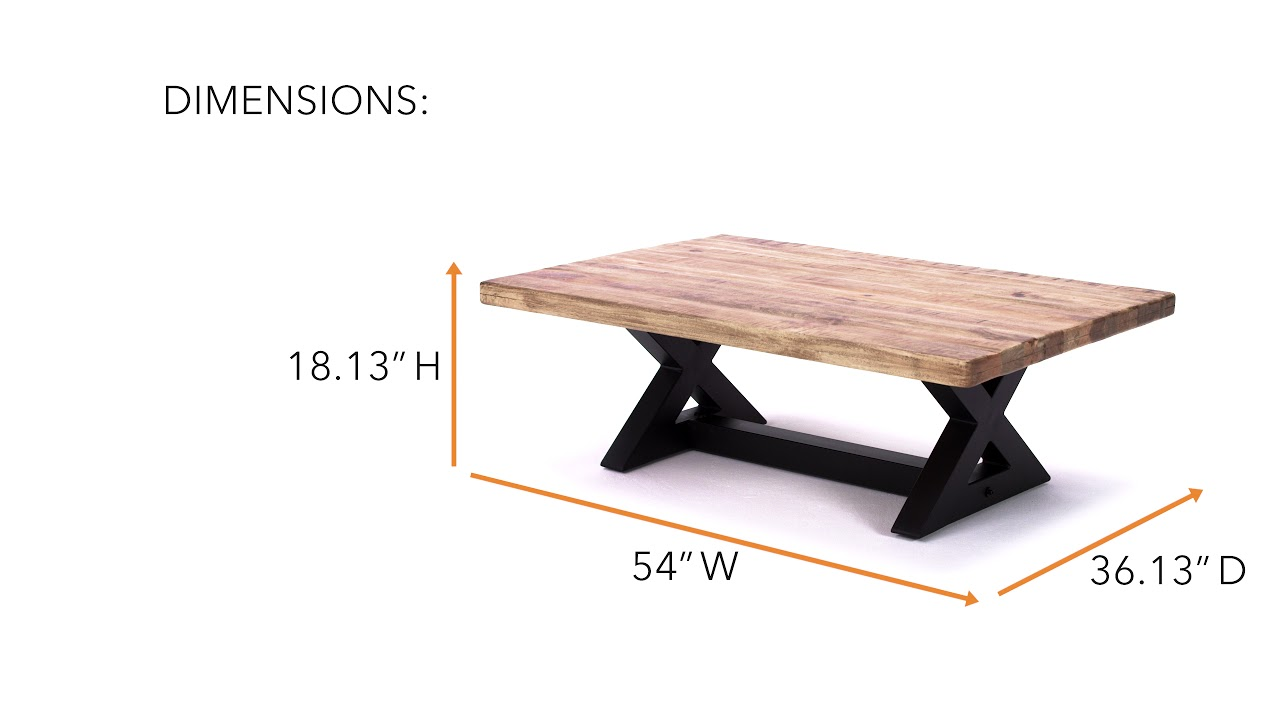 Ashley HomeStore Wesling Coffee Table YouTube - Ashley wesling coffee table