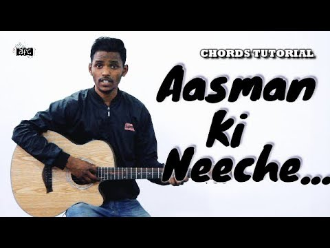 Aasman Ki Neeche Aur Dharti Par |  Guitar Chords Tutorial | AFC Music | Popular Hindi Christian Song thumbnail