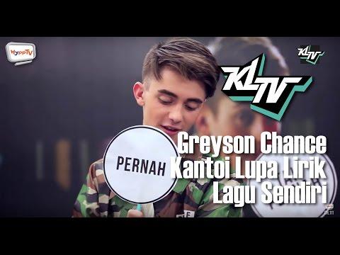 #KLTV_MY: Greyson Chance kantoi lupa lirik lagu sendiri.