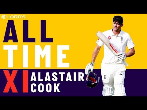 Lara, Kallis & McGrath - Alastair Cook's All Time XI