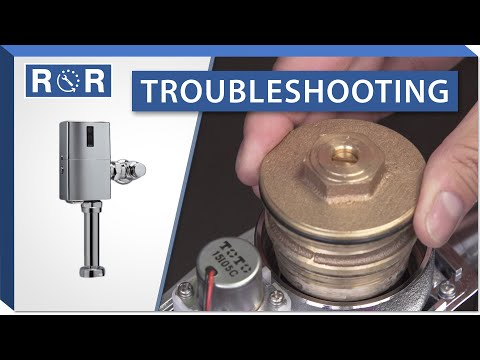 Troubleshooting A TOTO EcoPower Flushometer (Pre-2013) | Repair And Replace