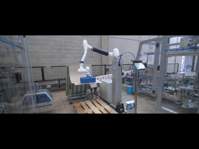 Pallettizzatore Cobot Doosan Robotics M0617 Covim Spa by Italpal Srl