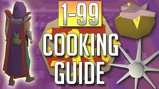 [OSRS] In-Depth 1-99 COOKING Guide (2018 Best Methods)
