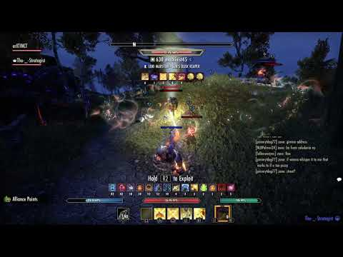 The-_-Strategist 2vX Open World ESO Ps4 2017