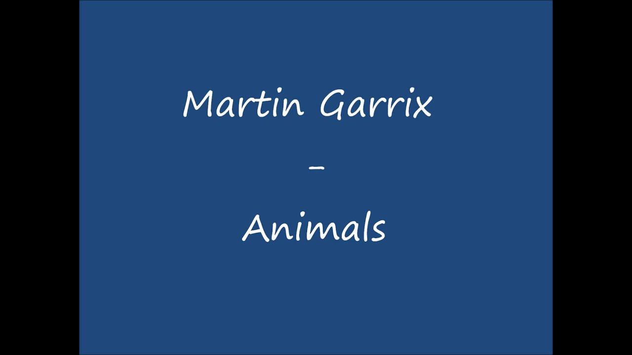SONNERIE GARRIX TÉLÉCHARGER ANIMALS MARTIN