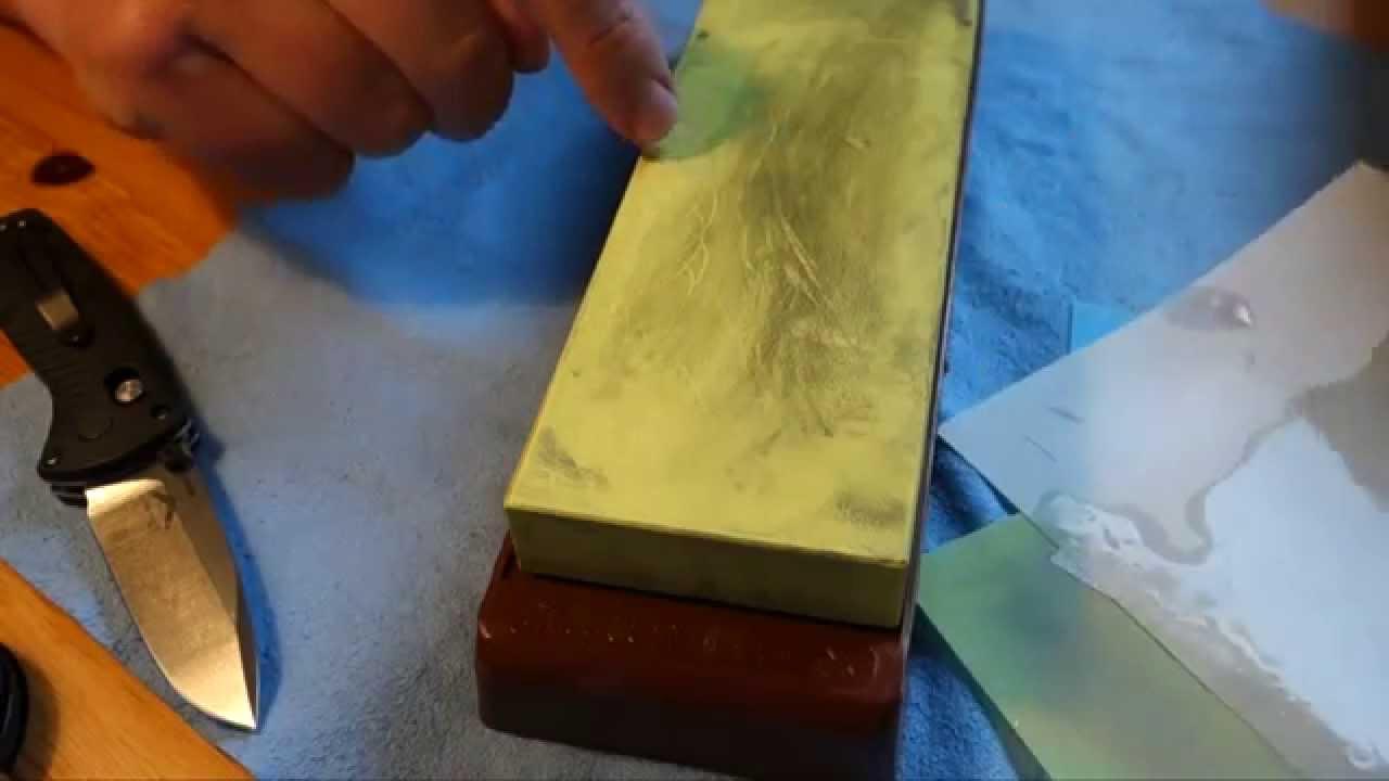 3m lapping film schleif und polierfolie messer sch rfen german youtube. Black Bedroom Furniture Sets. Home Design Ideas