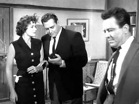William Hopper as Paul Drake in Perry Mason: The Case of the Garrulous Gambler