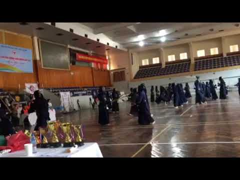 5Th Hanoi Open Kendo Championships - October 2017 - Warming up part 2