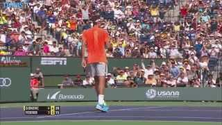 Federer, Djokovic Feature In Best Hot Shots Of Indian Wells 2015