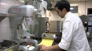 Cooking: How to make fresh pappardelle pasta