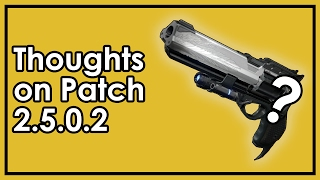 Destiny Rise of Iron: Is Hawkmoon Good Now? Thoughts on Patch 2.5.0.2