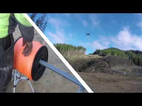 Drone used for logging - Gisborne NZ