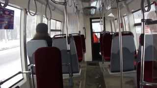 Трамвай Санкт-Петербурга 3-7: БКМ-84300М б.5211 по №19 (03.02.13)