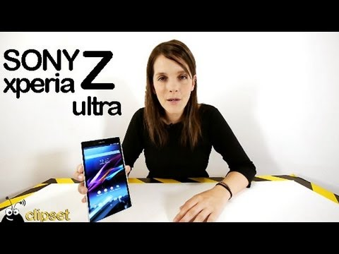 Sony Xperia Z ultra review Videorama