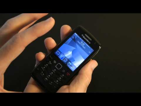 Blackberry Pearl 9105 Mobile Phone Unboxing & Review