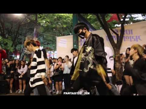 160514 DOB Hongdae BTS - I NEED U 디오비 홍대공연 방탄소년단 - I NEED U