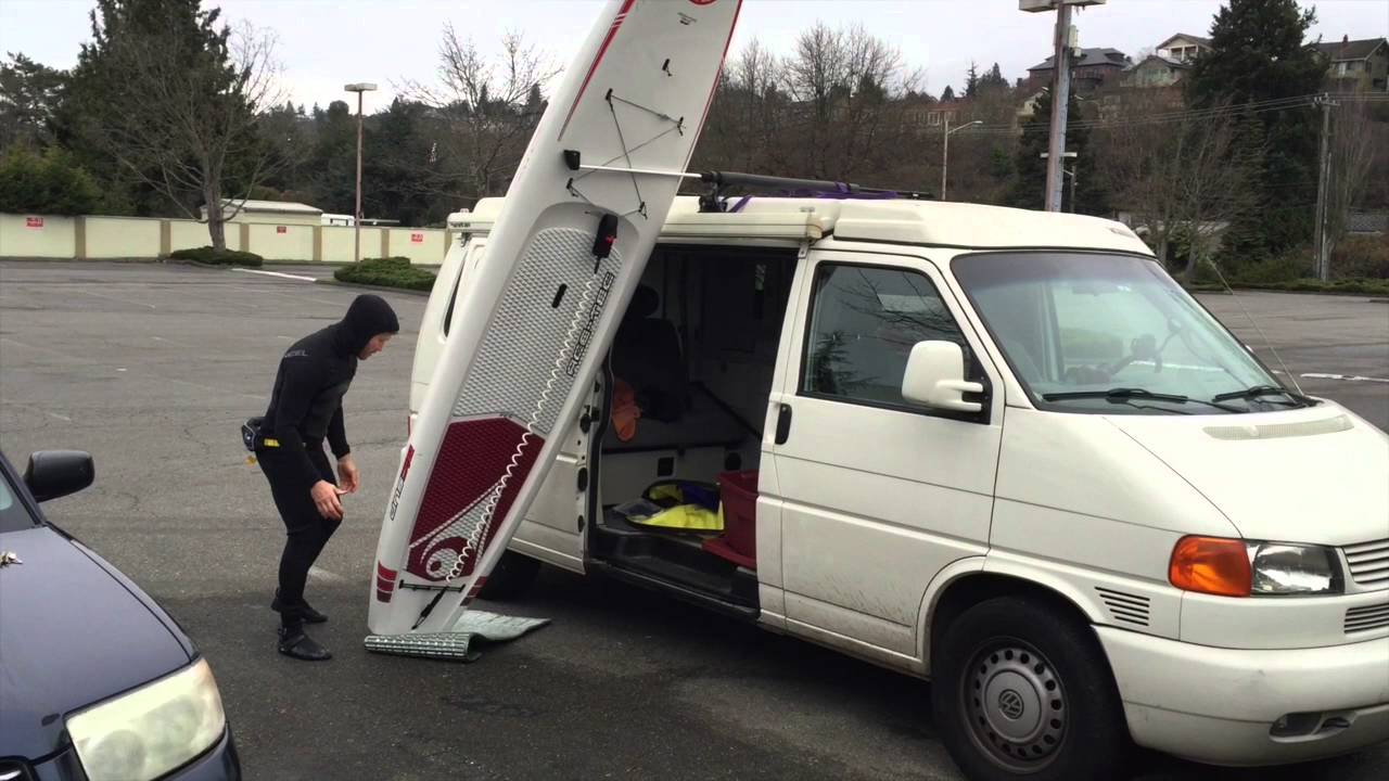 Sup Tips How To Load A Paddle Board On A Van Or Large Car
