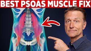 Video The Best PSOAS Muscle Fix: MUST WATCH! download MP3, 3GP, MP4, WEBM, AVI, FLV Oktober 2018