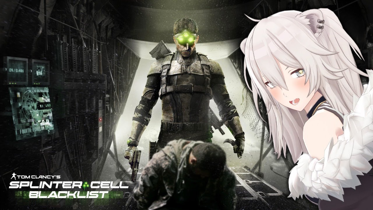 Stealth work! Splinter Cell Blacklist[Shishiro Botan / Holo Live]