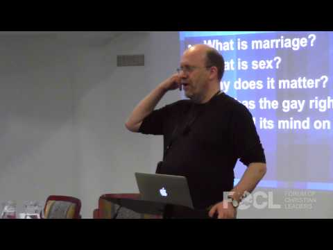 Presenting Christ through the Same Sex Marriage Debate - David Robertson