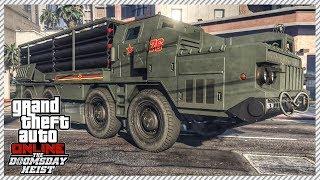 GTA 5 DOOMSDAY HEIST DLC - CHERNOBOG IN SINGLE PLAYER! HUGE MISSILE DESTRUCTION