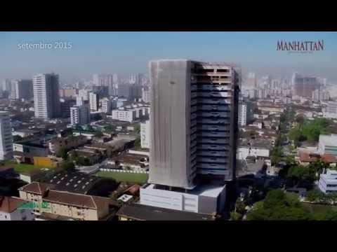 MANHATTAN OFFICE SANTOS | Andamento de Obras 09/2015