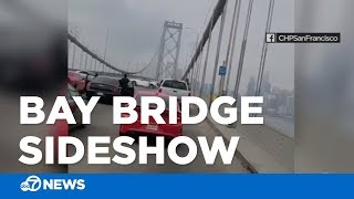 Bay Bridge sideshow ends with CHP arrest of one driver