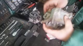 Самый быстрый способ засухарить и расухарить клапана на примере головки от мопеда 139qmb