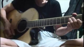 最近ギターを買ったので弾いてみました^^エレアコは音作りが難しいで...