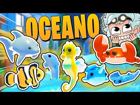 ¡CONSIGO TODAS las NUEVAS MASCOTAS del OCEANO! ADOPT ME OCEAN EGG PETS - KraoESP Roblox
