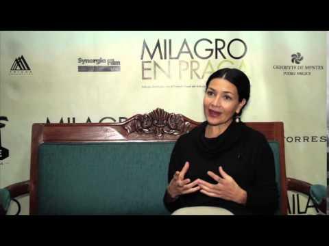 Milagro en Praga / Entrevista con Dolores Heredia