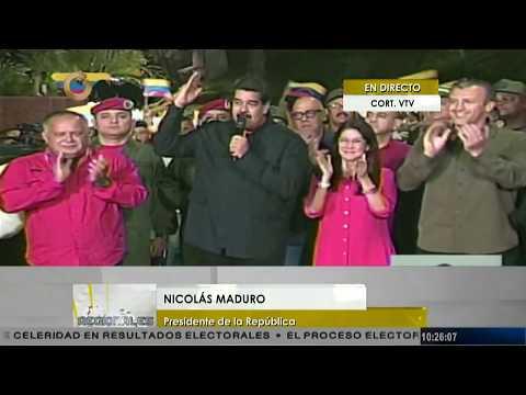 Nicolás Maduro: Hemos ganado el 75 % de las gobernaciones del país