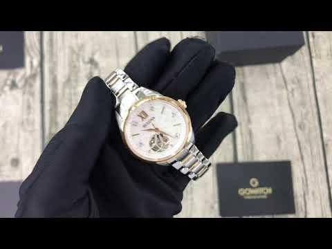 BULOVA Classics Mother Of Pearl Diamond Dial Ladies Watch 98P170