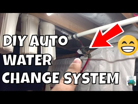 DIY Auto Water Change System And Air System