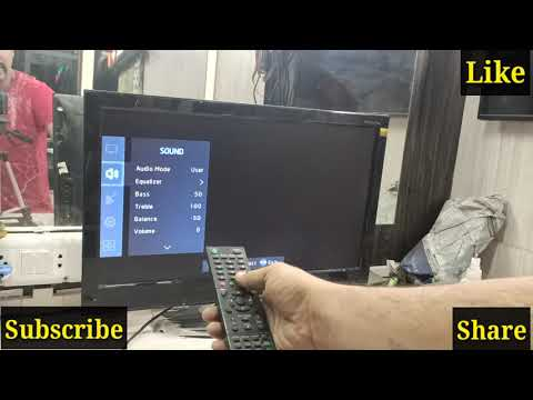 Videocon Led Tv Service Mode Opening
