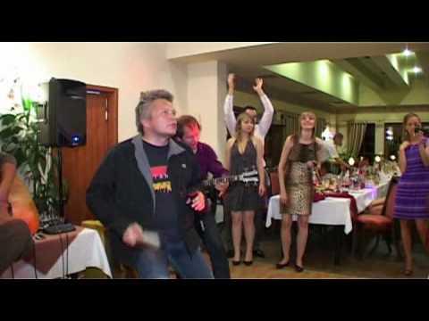 Występ zespołu T.LOVE na weselu Justyny i Łukasza 19.09.2009