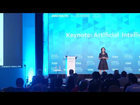 Dr. Fei Fei Li of Stanford's Artificial Intelligence Lab | Innovate and Celebrate 2016