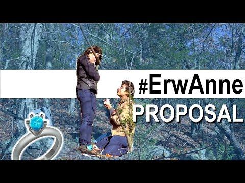 Anne Curtis & Erwan Heusaff PROPOSAL #ErwAnne #Engaged 💙💙💙