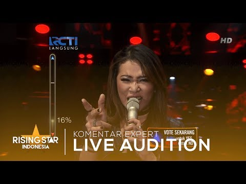 Fenny Febiany 'Dont Want To Miss A Thing' | Live Audition 3 | Rising Star Indonesia 2019
