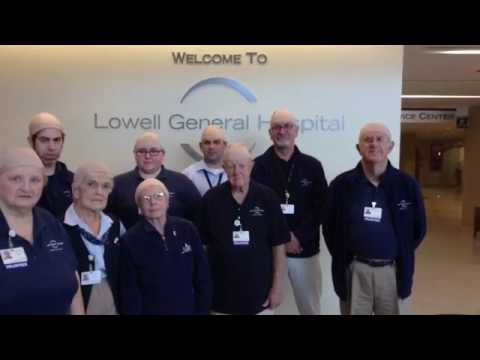 Lowell General Hospital BE BOLD,  BE BALD! Proceeds TeamWalk Cancer more than 300 Caps Sold Moody Sc