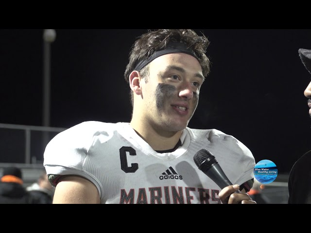 Marysville  Vs. Marine City - Football Highlights & Post-Game Interviews 10/18/19