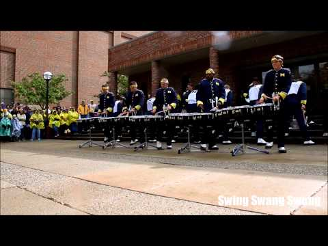 2013.10.19 - Michigan Drumline - Swing Swang Swung