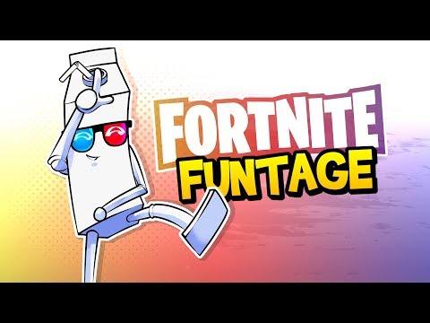 Fortnite Battle Royale FUNTAGE! - NOGLA RAGE, Spike Trap FUN & More!