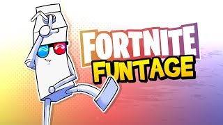 Fortnite Battle Royale FUNTAGE! - NOGLA RAGE, Spike Trap FUN & More!