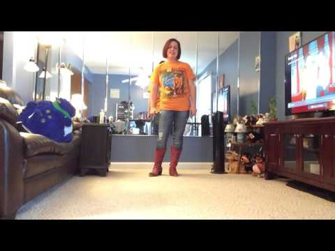 Make me Disappear line dance by Nicole Petrocelli
