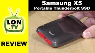 Samsung X5 Portable SSD Review - Thunderbolt 3 NVMe Performance Drive vs T5