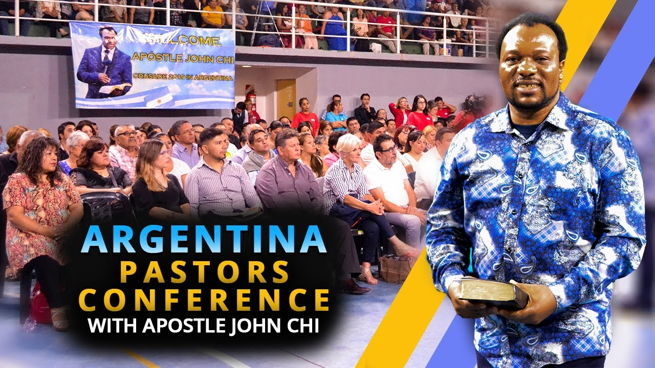 ARGENTINA - PASTORS CONFERENCE WITH APOSTLE JOHN CHI